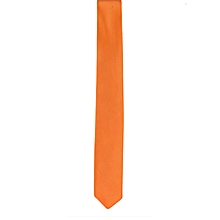 Light Orange Men's Tie with Pocket Square/Pochette/Pocketchief