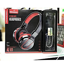 Wireless Stereo Hifi Bluetooth Headphones Az 01