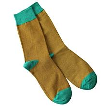 Fashion Men's Casual Cotton Medium Socks Design Multi-Color Socks Floor