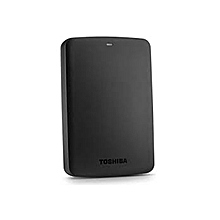 2TB - Canvio Basics Portable Hard Drive - Black