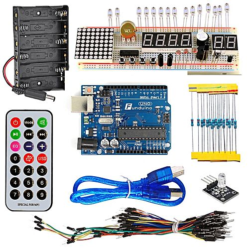 Kt arduino uno compatible starter kit with breadboard