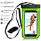 """Waterproof Phone Case, Underwater Dry Bag Pouch With Armband For Iphones & other Cell Phones Up To 6.0""""  Color:Black Color:…"""