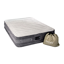 Queen DuraBeam  Mid-Rise Airbed Mattress with Built-in Pump