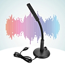 Omnidirectional USB Microphone For Computer Desktop Plug & Play for Recording, Online Chatting
