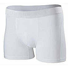 White Cotton Casual Fitting Boxers