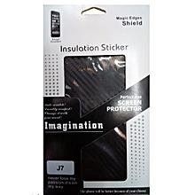 Galaxy J7 Insulation Sticker - Black