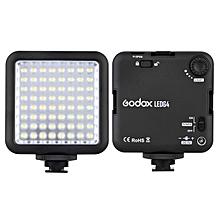 Godox LED64 LED Lamp Video Light for DSLR Camera Camcorder mini DVR Interview Macro photography