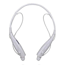 HBS-730 Wireless Bluetooth 4.0 Headset Earphone For iPhone For Samsung W-White