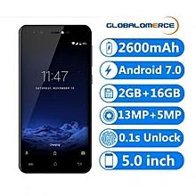 """R9 - 5"""" Android 7.0 2GB/16GB Fingerprint P-Sensor EU - Blue"""