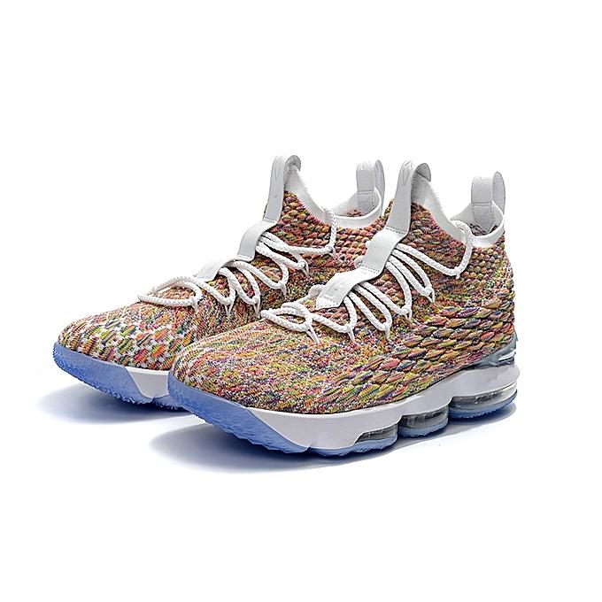 4278a374bd2 NBA NlKE LBJ15 Men s Basketball Shoes 2018 LeBron James Sports Sneskers
