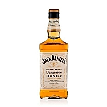 Jack Daniel's Tennessee Honey Whiskey Plus Free Unbranded Whiskey glass- 700ml