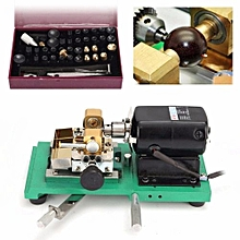 Pearl Drilling Holing Machine Beads Driller Full Set Jewelry Tools 220V 300W