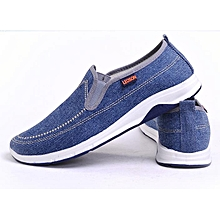 Men's fashion denim casual comfortable low-top sneakers