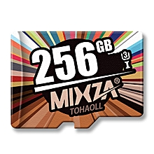 Mixza U3 256GB The Colorful Series High-speed Memory Card
