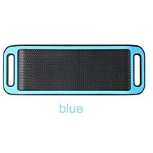 S816 Mini Wireless Smart Metal Portable Bluetooth Speaker Handfree Stereo Speakers For PC Laptop Iphone Smartphone(Blue)