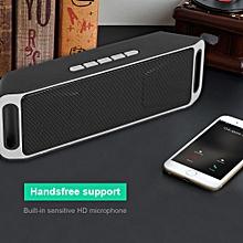 Wireless Bluetooth Speaker USB FM TF Card Built-in Mic Handsfree
