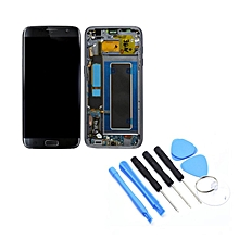 LCD Touch Screen Digitizer Assembly with Frame For Samsung S7 Edge G935F Black