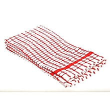 Cotton Kitchen towel Piece Red