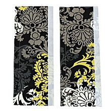 2pcs Cotton Fabric Refrigerator Oven Appliance Door Handle Covers 14'' X 5.5''