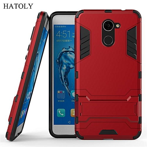 sale retailer 56cbc 2fa91 For Huawei Y7 Prime Case Luxury Hybrid Silicone Iron Man Armor Case Cover  For Huawei Y7 Prime Full Protect Phone Housing Shock Protection Back Cover  ...