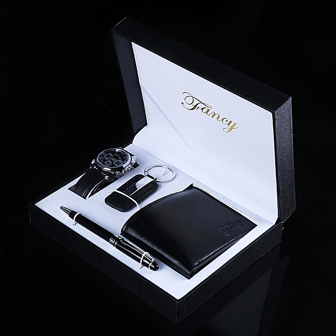 The Creativity Watch Purse Key Buttons Up Fountain Pen Gift Box Suit Birthday