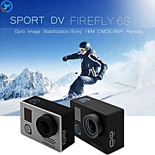 Re furbished FIREFLY 6S 4K WiFi Sport HD DV 16M CMOS FPV 140 Degree Wide Angle Action Camera with Gyro Image Stabilization-BLACK