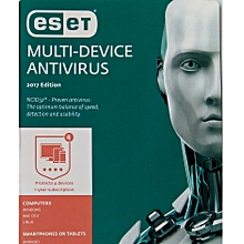Antivirus 4-User License (Multidevice: Laptops, Pcs, android phones)
