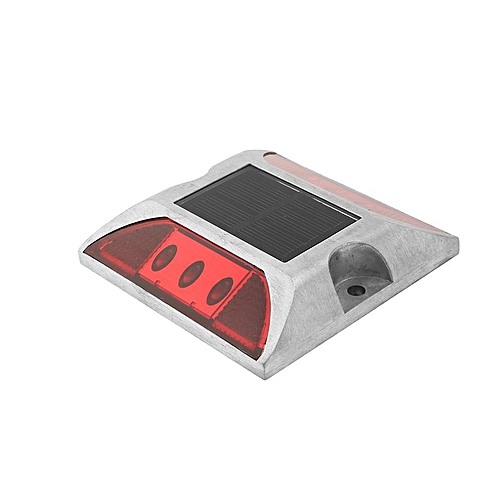 Steady Mody Ip68 Road Safety Square Design Red Warning Light Solar Power Led Road Stud Marker Back To Search Resultssecurity & Protection