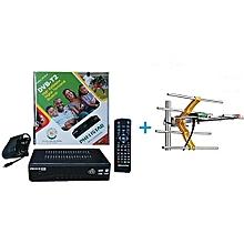 FREE to Air TV Digital Decoder + a FREE Digital Receiver Antenna/Aerial