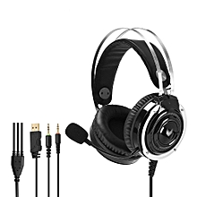 Rapoo VH100S Video Game Backlight Gaming Headphone with Microphone Line Control