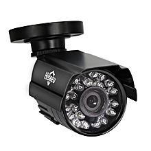 Hiseeu 1000TVL 3.6mm Lens Metal Analog Night Vision Outdoor CCTV Camera Waterproof Bullet Camera PAL