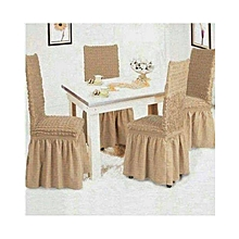 Dining Seat Covers –3+2+1+1 – Beige
