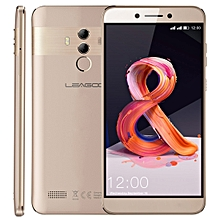 LEAGOO T8S, 4GB+32GB, Dual Back Cameras, Face ID & Fingerprint Identification, 5.5 inch Android 8.1 MTK6750T Octa Core up to  1.5GHz, Network: 4G, Dual SIM(Gold)