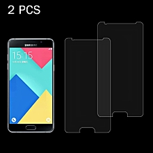 2 PCS for Samsung Galaxy A5(2016) / A510 0.26mm 9H Surface Hardness 2.5D Explosion-proof Tempered Glass Screen Film