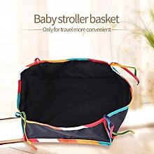[Free Shipping]Baby Stroller Pram Bottom Basket Buggy Shopping Storage Organizer