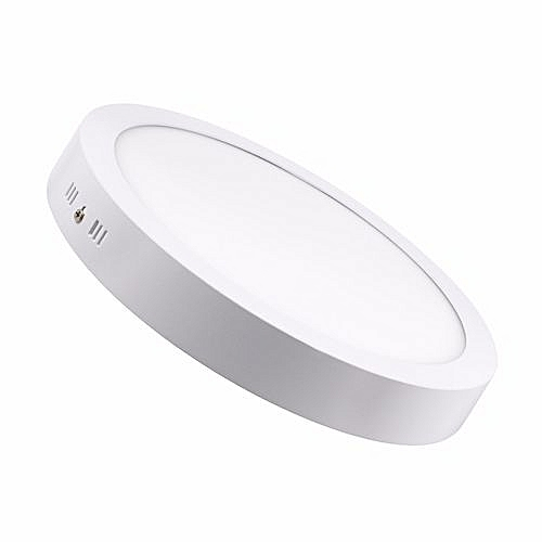 Indoor Led Panel Light 6W 12W 18W 24W Round Surface Mounted Ceiling Led  Downlight - Cold white