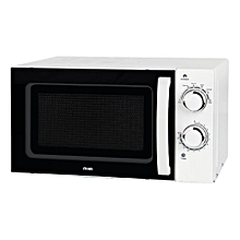 6 Power Level 20L Microwave White manual control
