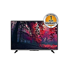32″ Smart LED Black TV