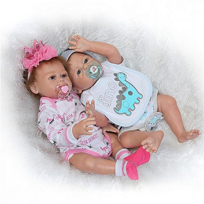 Buy Generic 19 5 Handmade Silicone Reborn Boy Body Lovely Dolls
