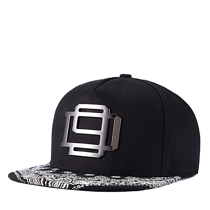 50fa6104b52 Fashion Men s and Women s Flat Hats Hip-hop Hats Iron Tide Hats ...