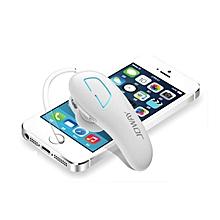 Earphone for Sport, H02 Wireless Headphone Bluetooth Headset Hands-free Stereo Earphone(White)