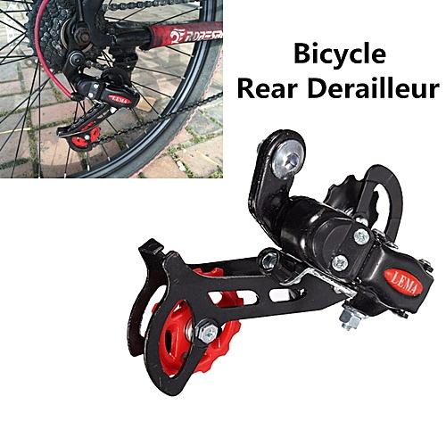 Metal Road Bike Bicycle Cycling Rear Rack Derailleur Protector 7 / 21 Speed