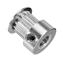 3PCS Anet® GT2 Pulley 16 Teeth Bore 5MM Timing Gear Alumium For GT2 Belt Width 6MM 3D Printer