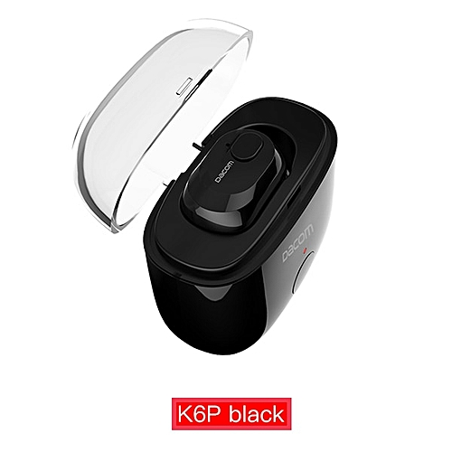 0a7cb83b0a099a Dacom Dacom K6H Pro Bluetooth 5.0 Earphone Wireless Headphones Buds TWS  True Wireless Earbuds Earphones Mini Twins Headset PK i10 Tws(#K6P Black)