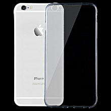 For iPhone 6 Plus & 6s Plus 0.75mm Ultra-thin Transparent TPU Protective Case(Transparent)