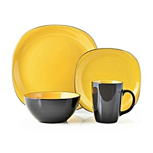 16pc Bali Yellow Dinner set
