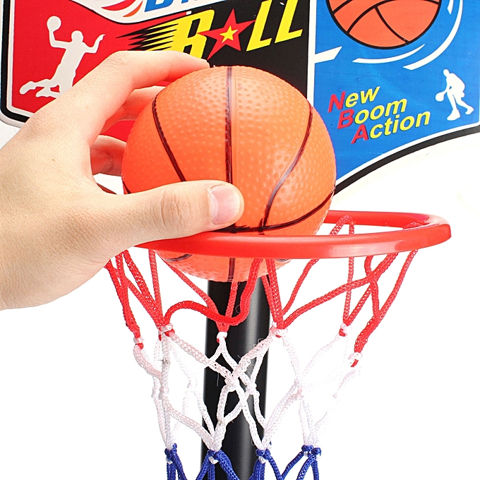... Mini Basketball Net Game Hoop Ring With Ball Basket Fun Office Indoor  Toy Gift Portable Easy ... 5051ac20ef