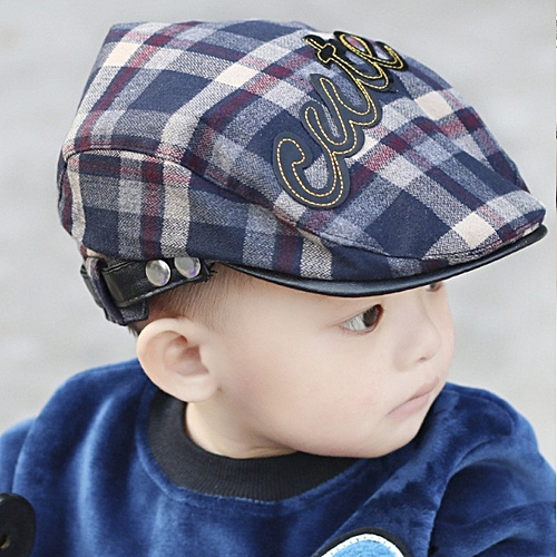846958a77cb Generic Baby Children Fashion Cute Cap Summer Berets Baby Hat Boy Caps For  2-4 years Child WM-009