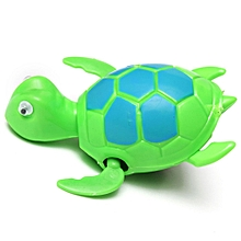 Floating Wind-up Swimming Turtle Summer Toy For Kids Children Pool Bath Fun Time