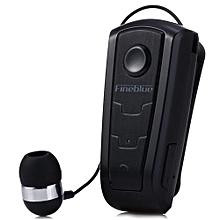 FineBlue F910 Wireless Bluetooth V4.0 Headset Vibrating Alert Wear Clip Earphone For IPhone Samsung HTC